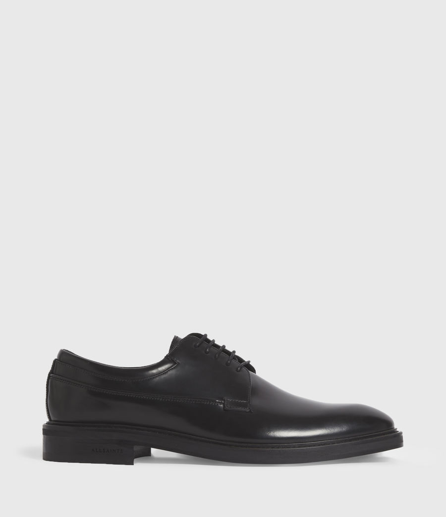 Hombres Stanton Leather Shoes (black) - Image 1
