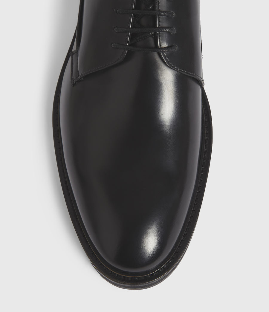 Hombres Stanton Leather Shoes (black) - Image 2