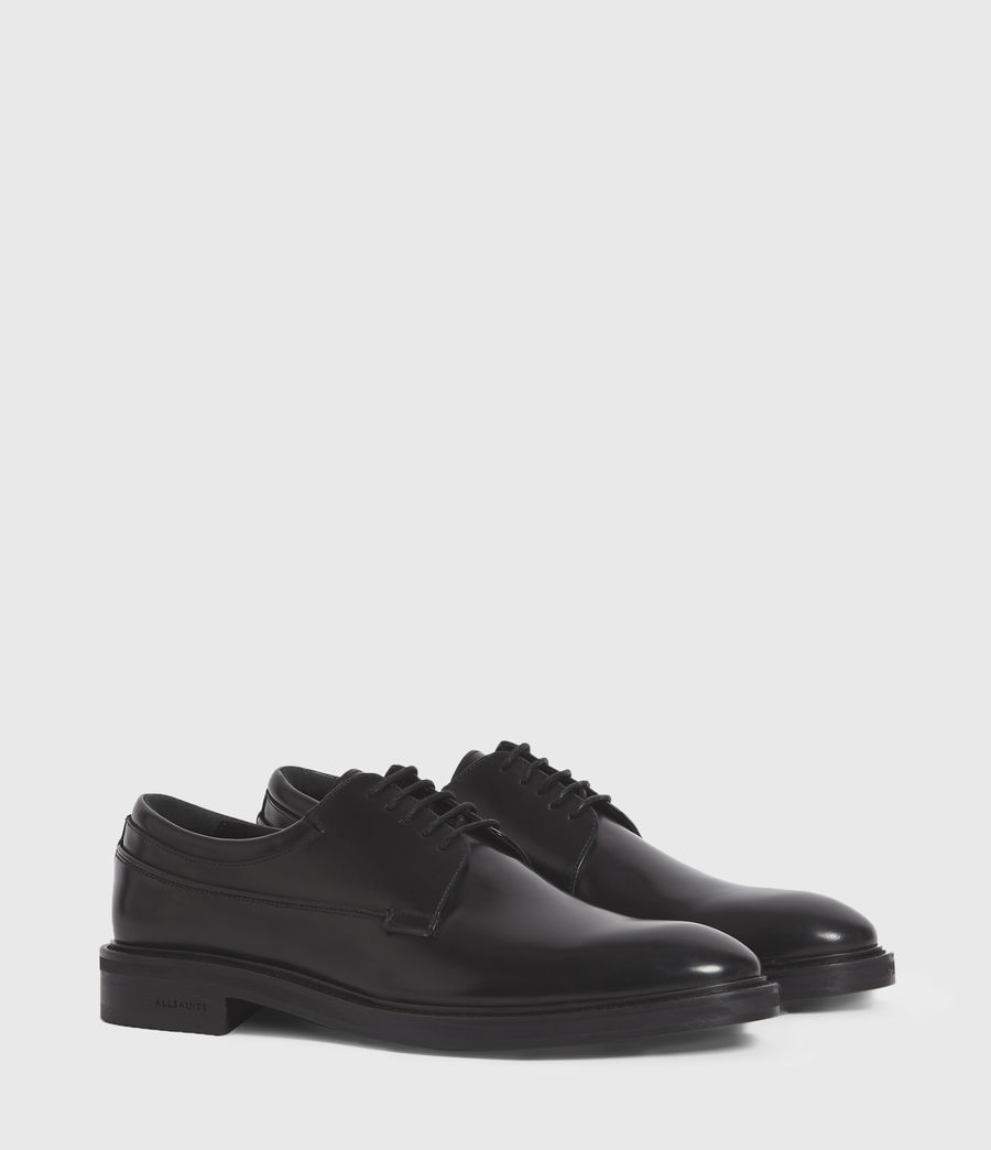 Hombres Stanton Leather Shoes (black) - Image 3