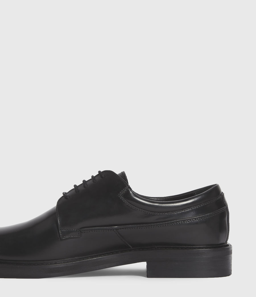 Hombres Stanton Leather Shoes (black) - Image 4