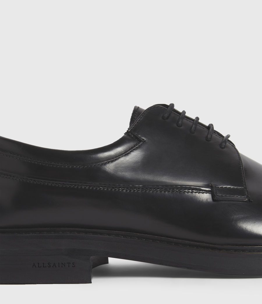 Hombres Stanton Leather Shoes (black) - Image 5