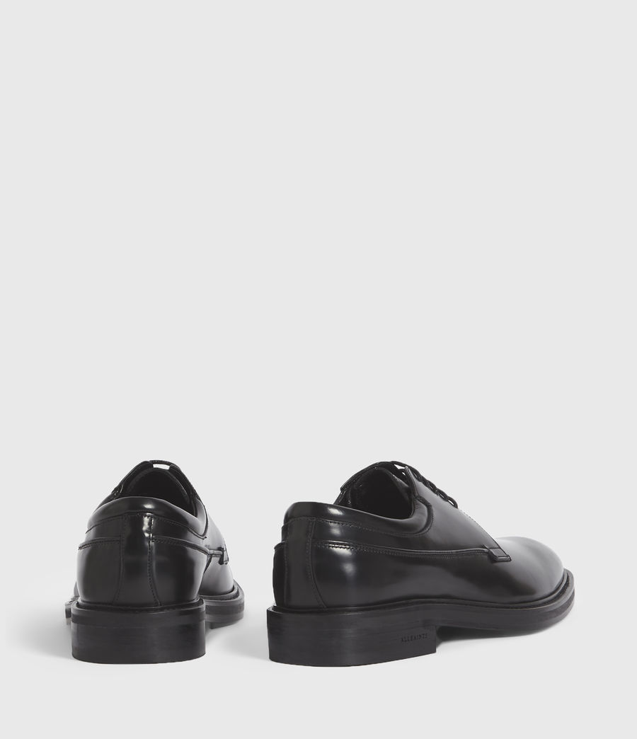 Hombres Stanton Leather Shoes (black) - Image 6