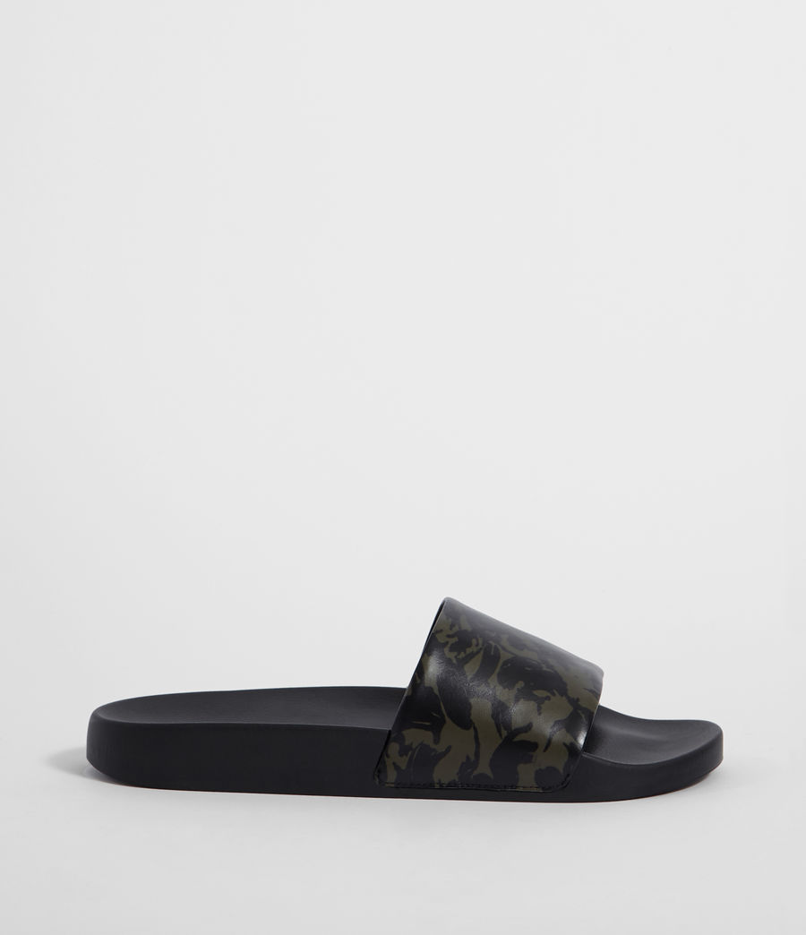 Men's Leo Slides (dark_khaki_black) - Image 1