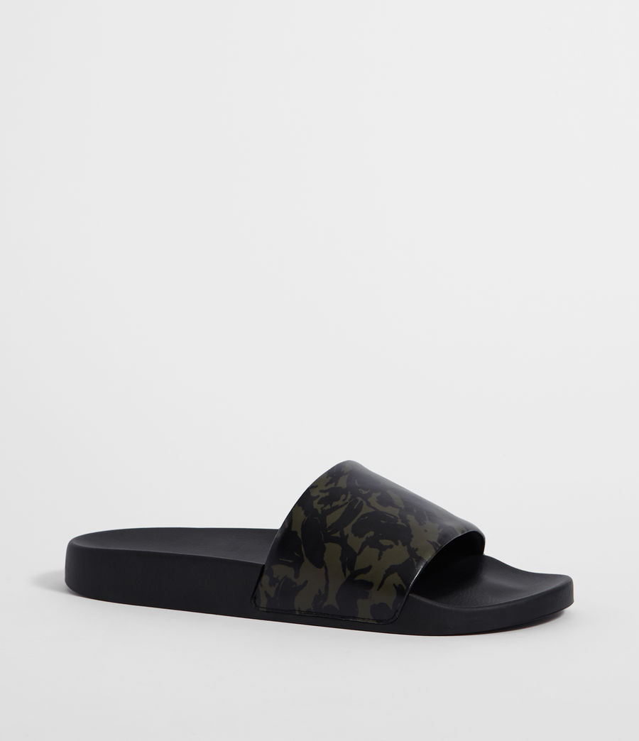 Men's Leo Slides (dark_khaki_black) - Image 2