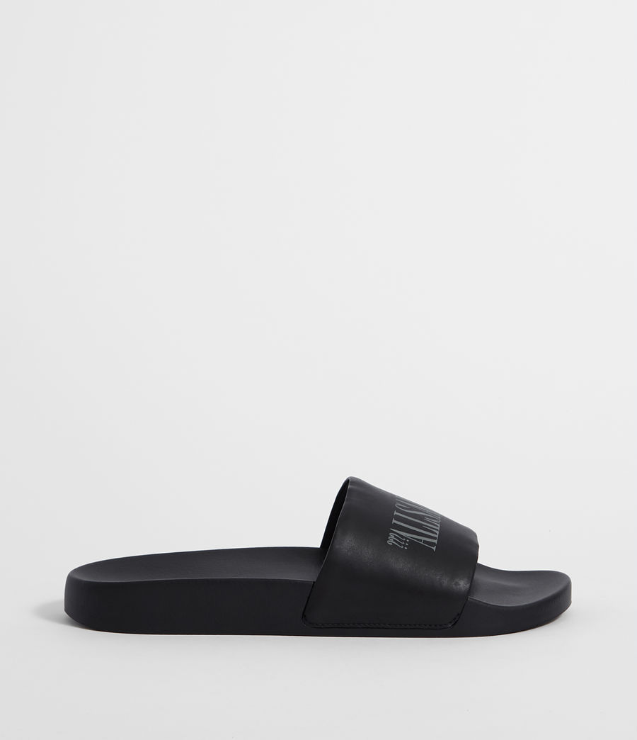 Mens Brackets Slides (black) - Image 1