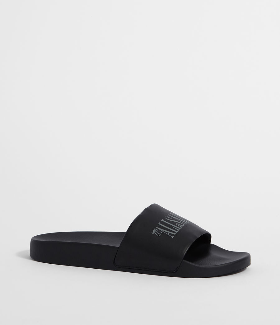 Mens Brackets Slides (black) - Image 2