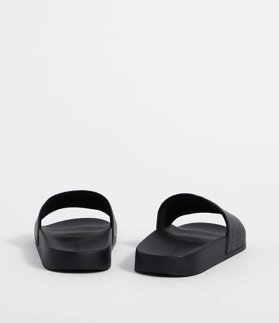 Mens Brackets Slides (black) - Image 5
