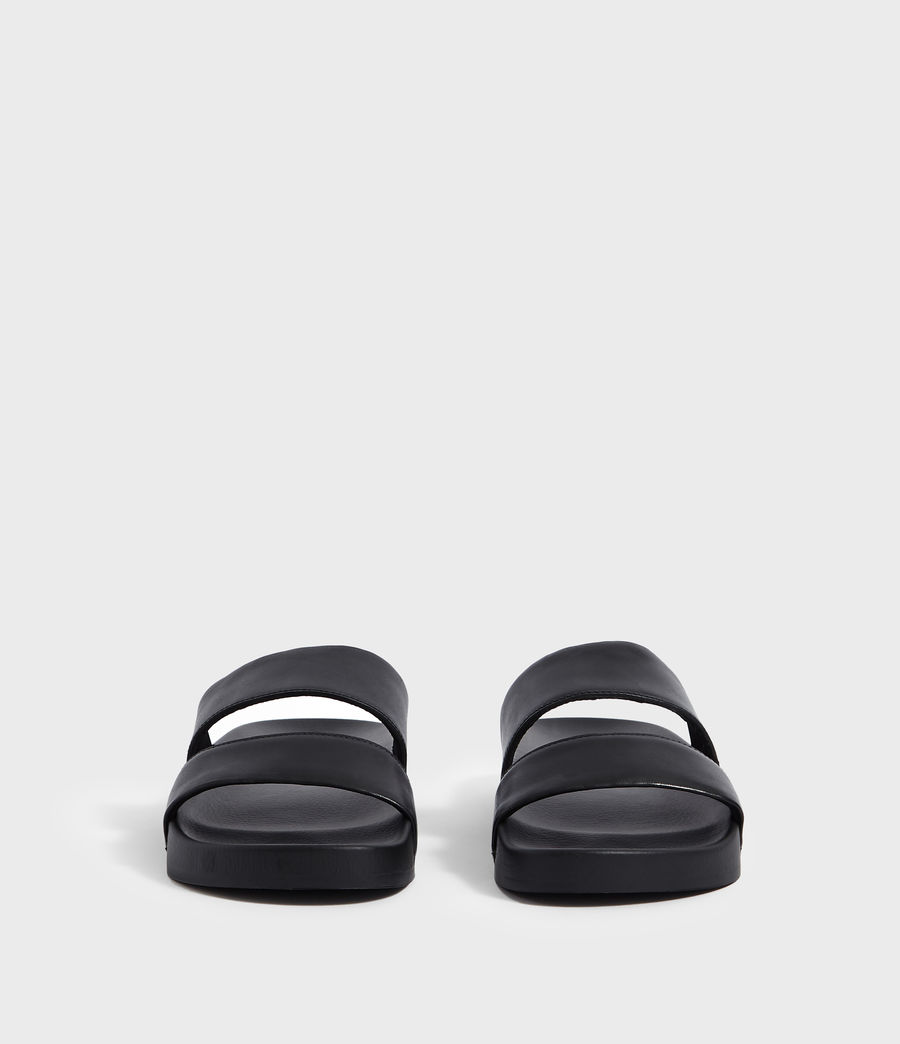 Men's Duo Strap Slides (black) - Image 4