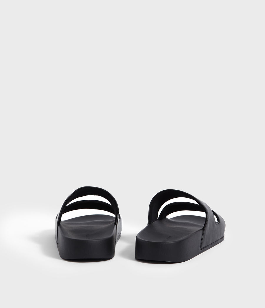 Men's Duo Strap Slides (black) - Image 5
