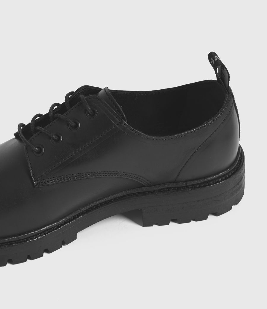 Hombres Tor Leather Lace Up Shoes (black) - Image 2