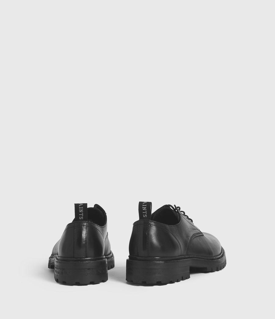 Hommes Derbies en Cuir Glacé Tor (black) - Image 6