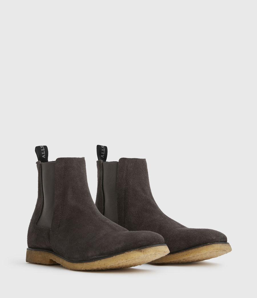 Men's Rhett Suede Boots (charcoal_grey) - Image 2