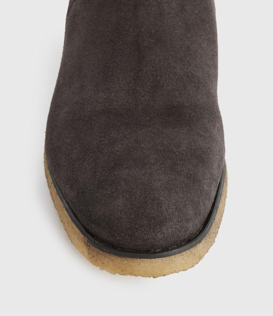 Men's Rhett Suede Boots (charcoal_grey) - Image 3