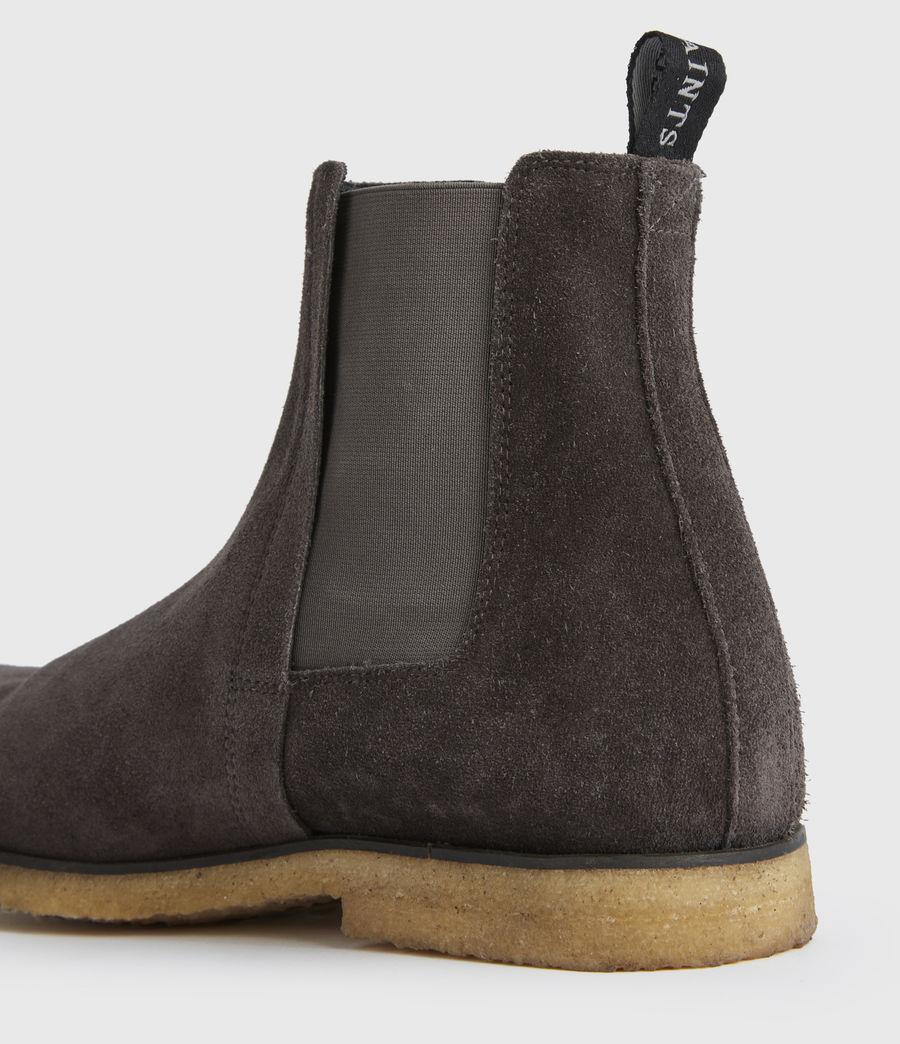 Men's Rhett Suede Boots (charcoal_grey) - Image 4