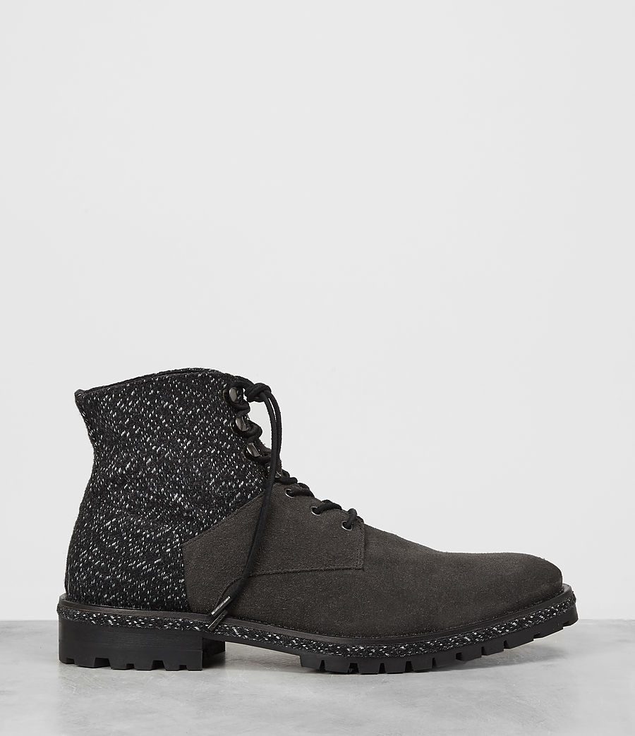 Hombres Botas Weir (tweed_charcoal) - Image 4