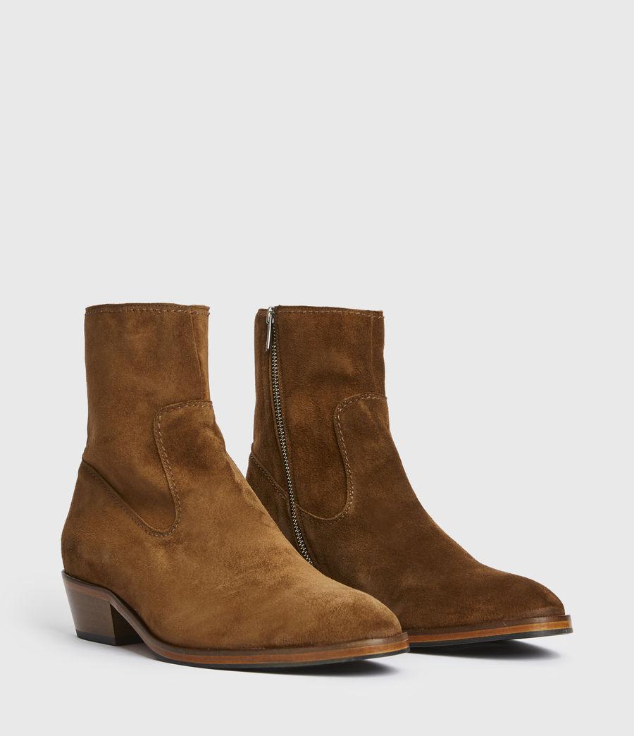 Men's Ridge Suede Boots (tobacco_gold) - Image 3