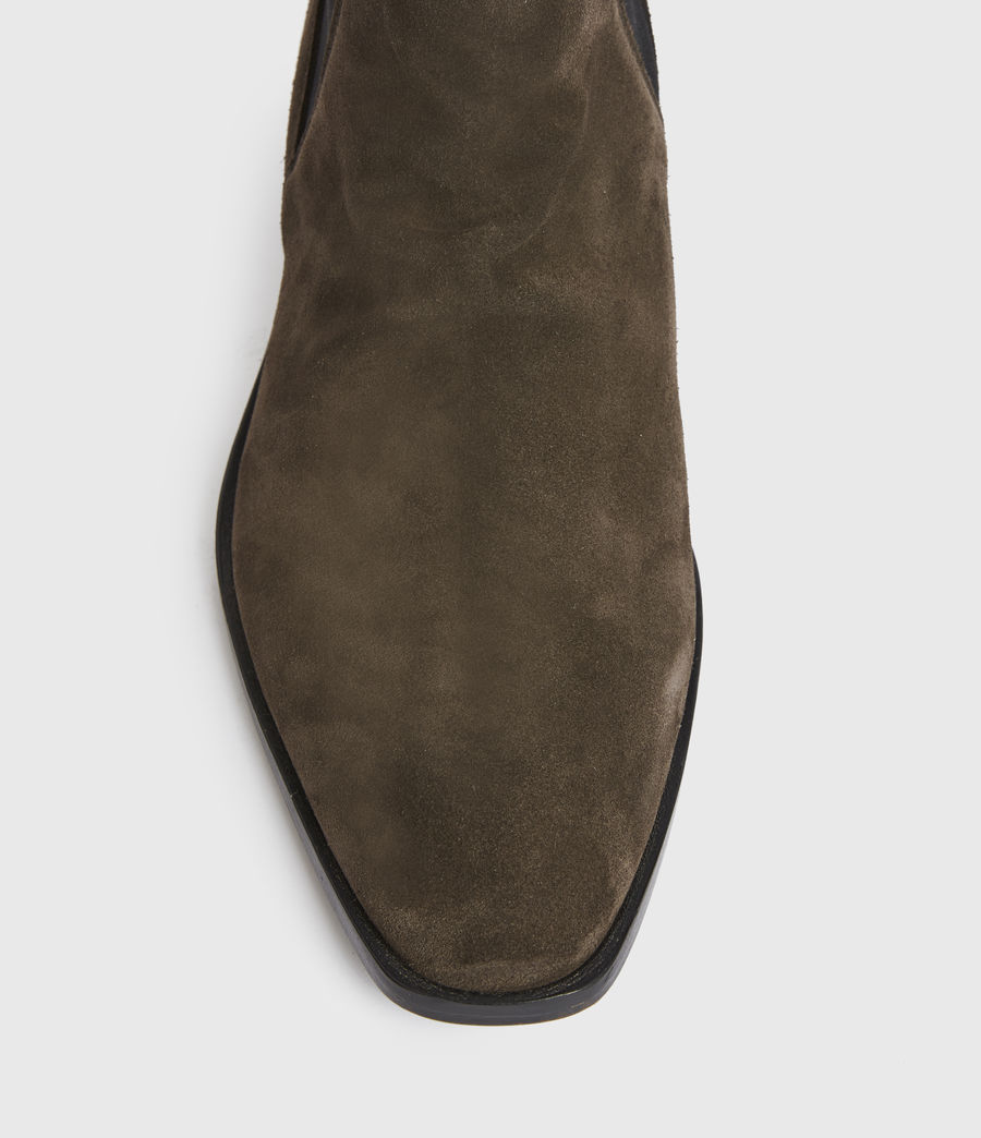Men's Markus Suede Boots (bitter_chocolate) - Image 4