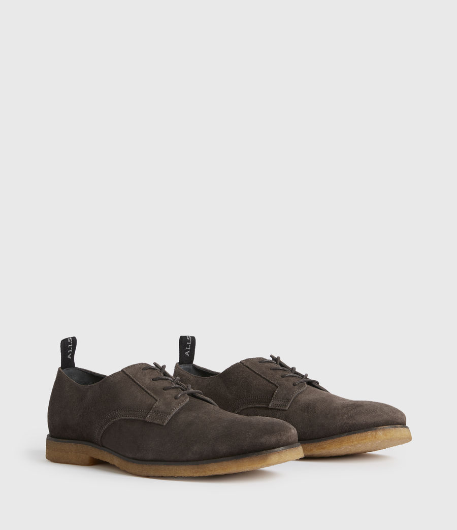 Men's Leigh Suede Shoes (charcoal_grey) - Image 3