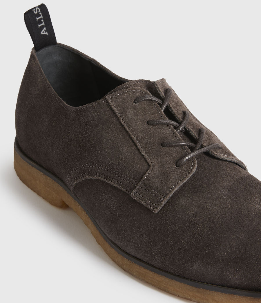 Men's Leigh Suede Shoes (charcoal_grey) - Image 4