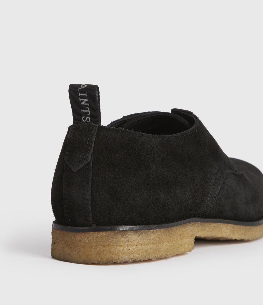 Men's Leigh Suede Shoes (black) - Image 2