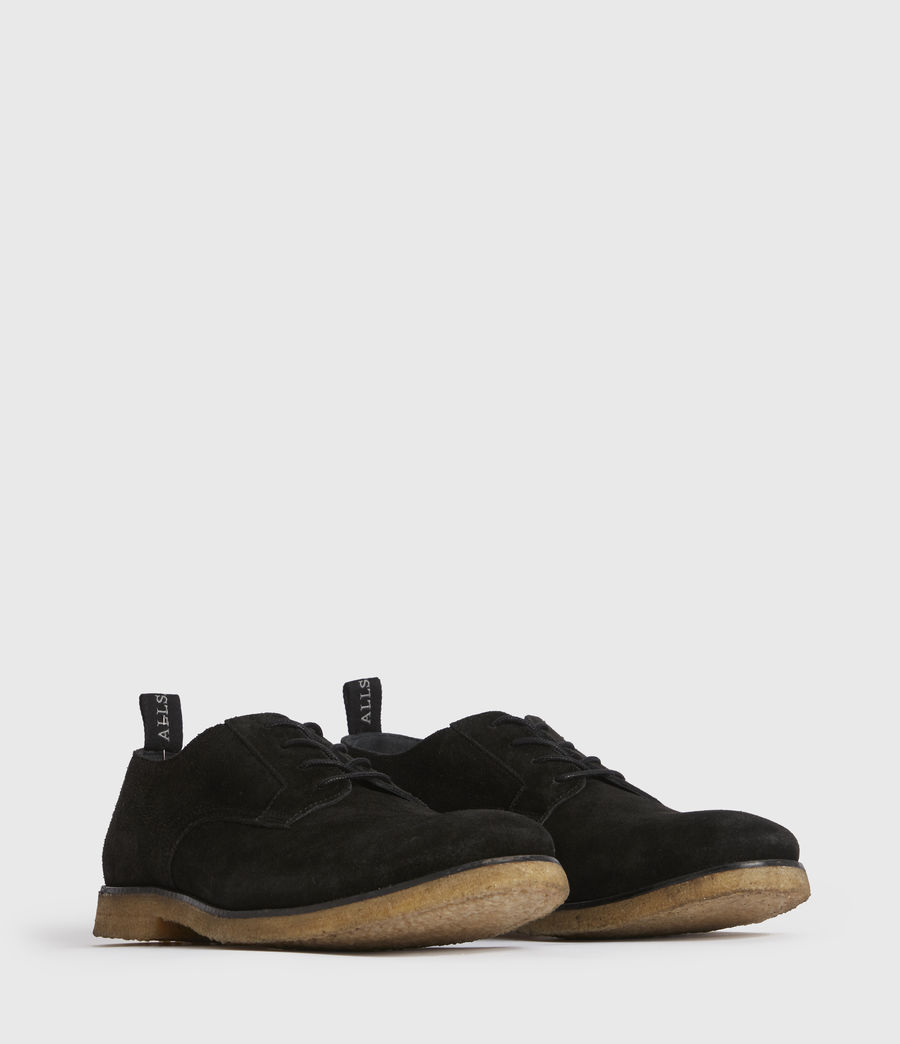 Men's Leigh Suede Shoes (black) - Image 3