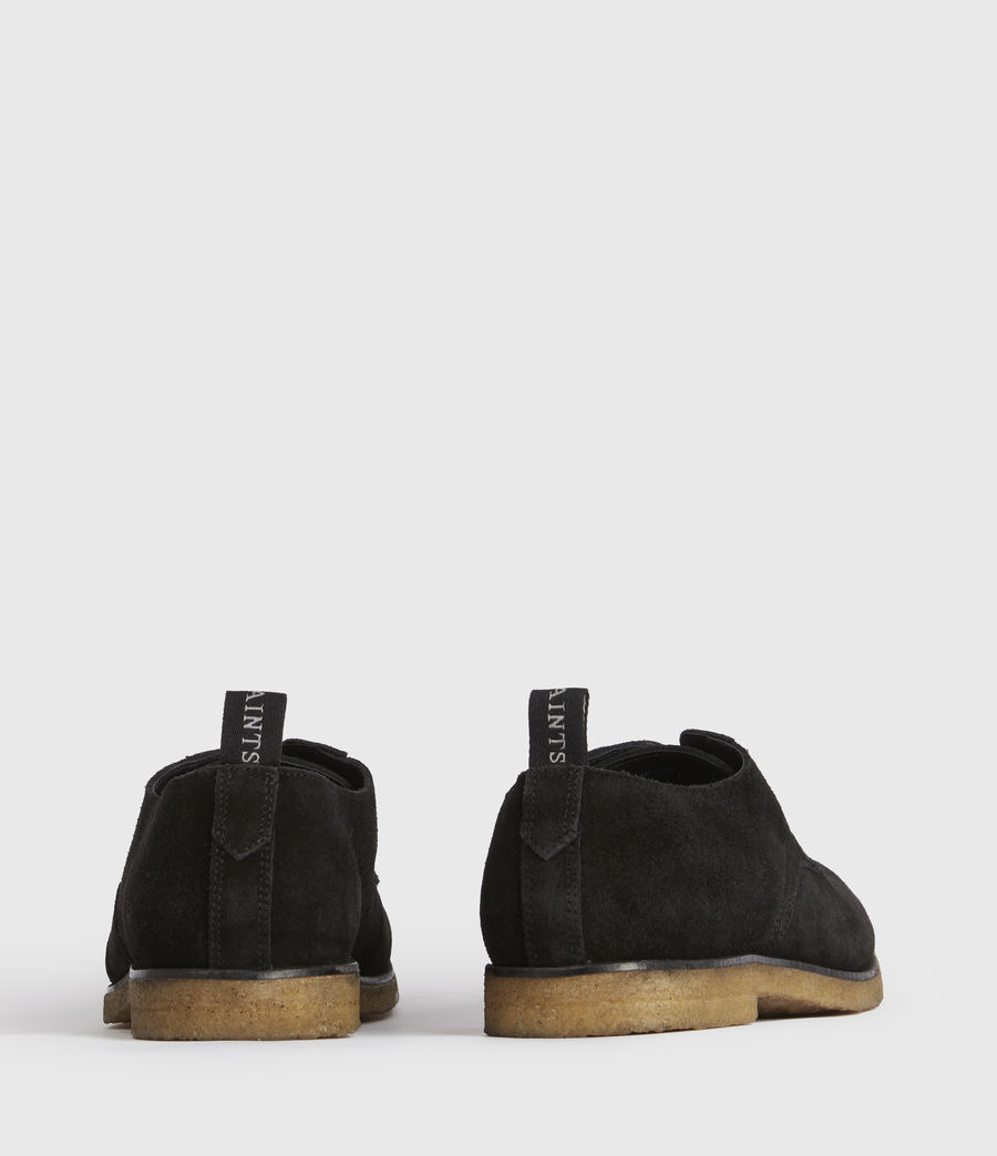 Men's Leigh Suede Shoes (black) - Image 5