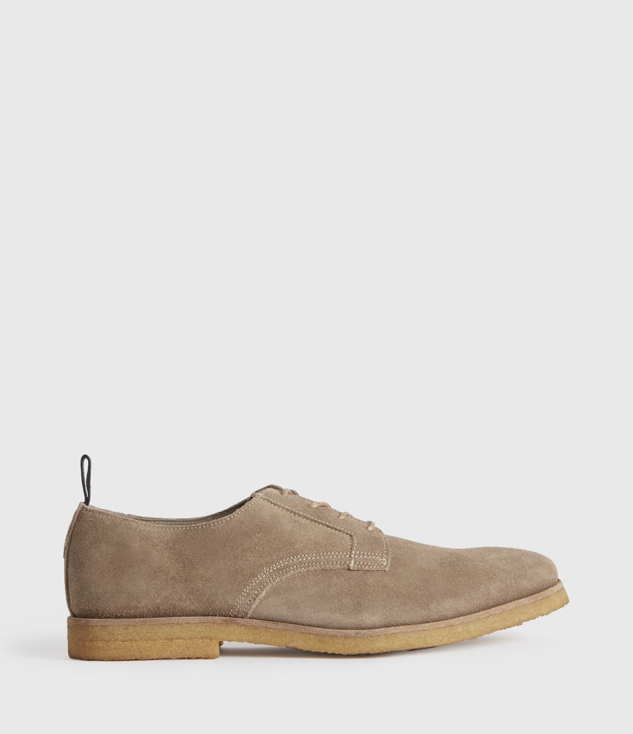 Men's Leigh Suede Shoes (charcoal_grey) - Image 1