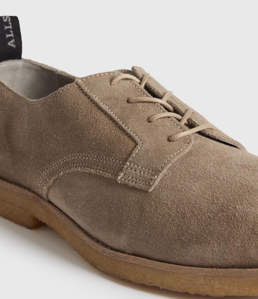 Men's Leigh Suede Shoes (charcoal_grey) - Image 2