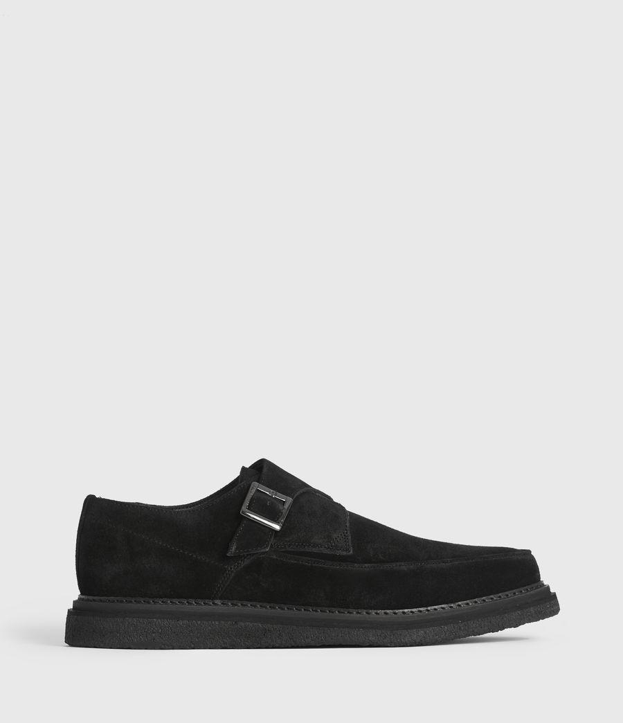 Men's Rollin Suede Shoes (black) - Image 1