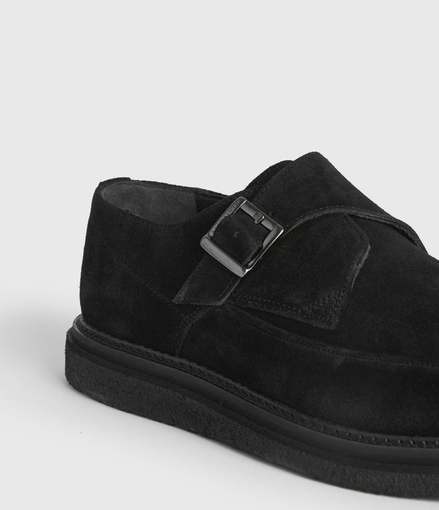 Men's Rollin Suede Shoes (black) - Image 2