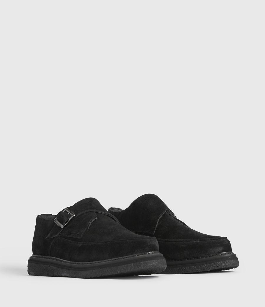 Men's Rollin Suede Shoes (black) - Image 3