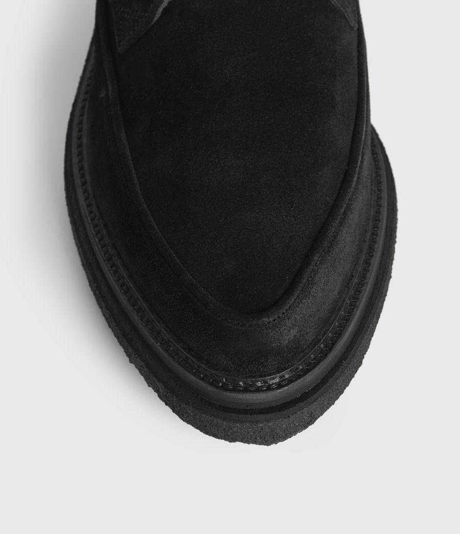 Men's Rollin Suede Shoes (black) - Image 4