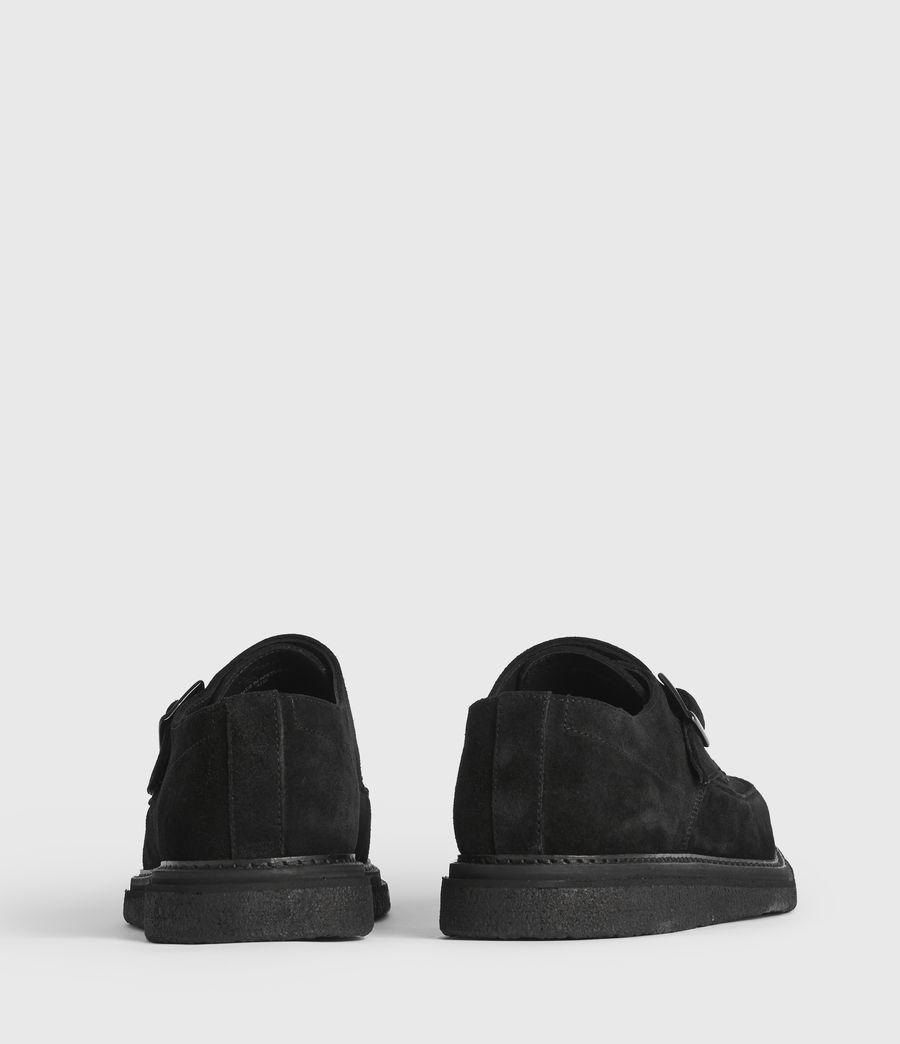Men's Rollin Suede Shoes (black) - Image 5
