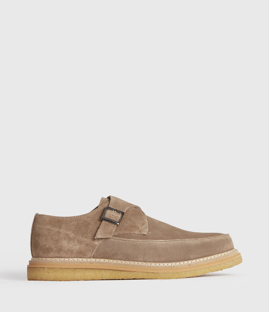 Men's Rollin Suede Shoes (taupe) - Image 1
