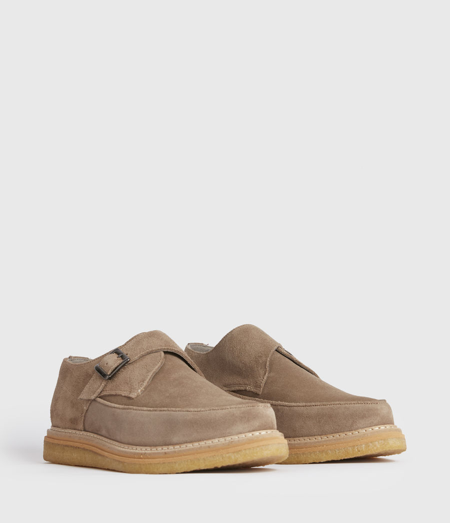 Men's Rollin Suede Shoes (taupe) - Image 3