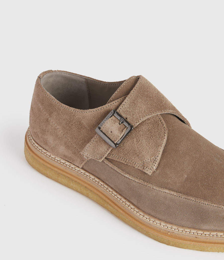 Men's Rollin Suede Shoes (taupe) - Image 4