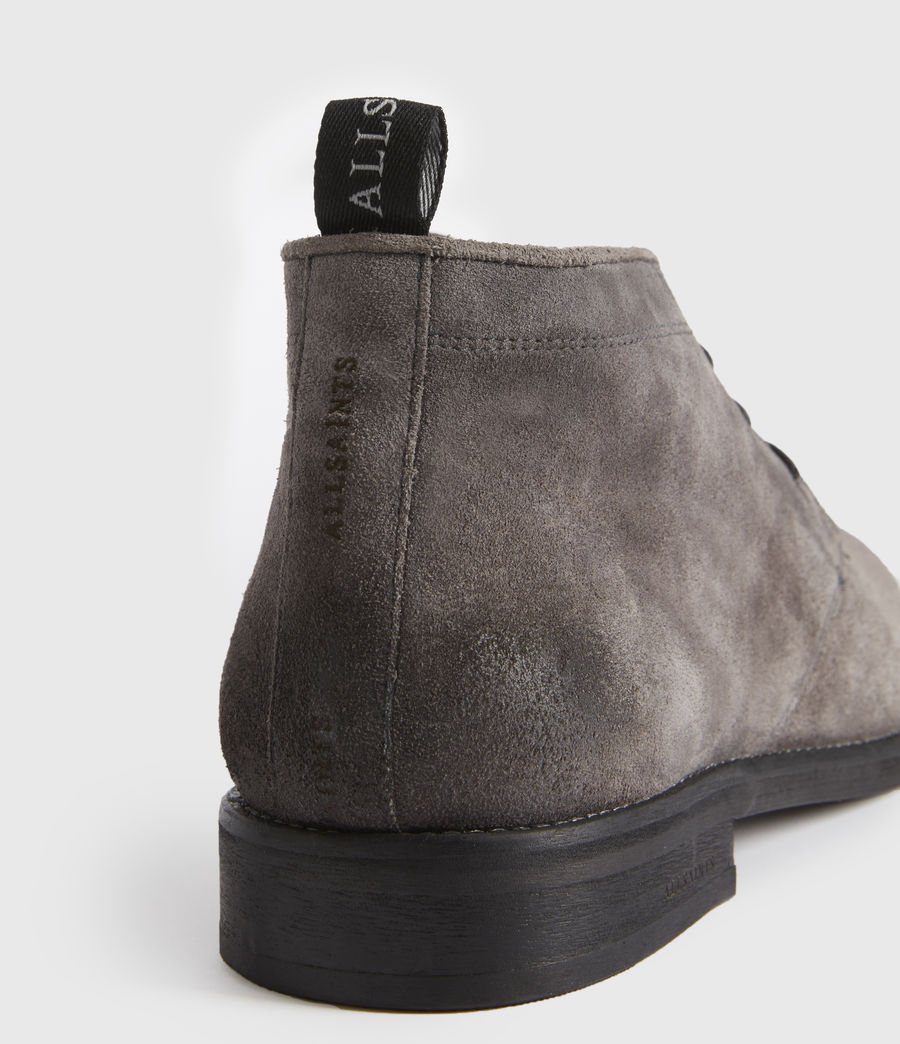 Men's Huxley Suede Boots (charcoal_grey) - Image 2