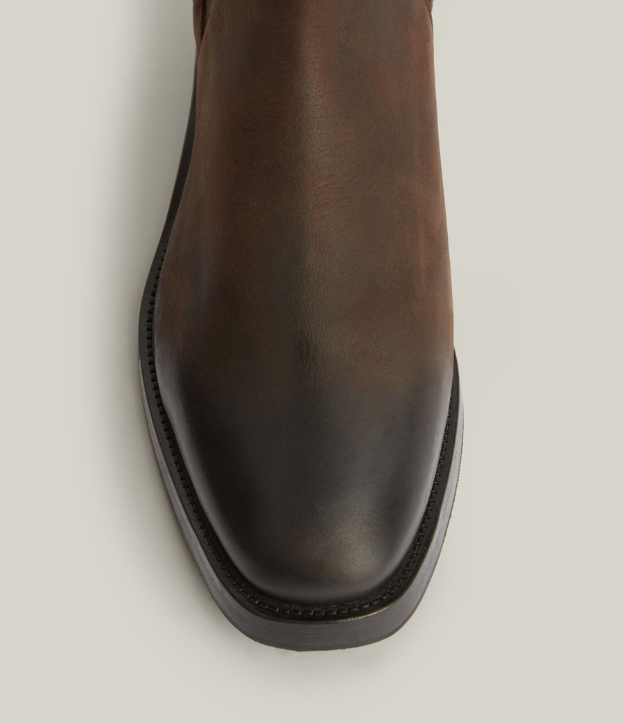 Men's Eli Leather Boots (bitter_chocolate) - Image 3