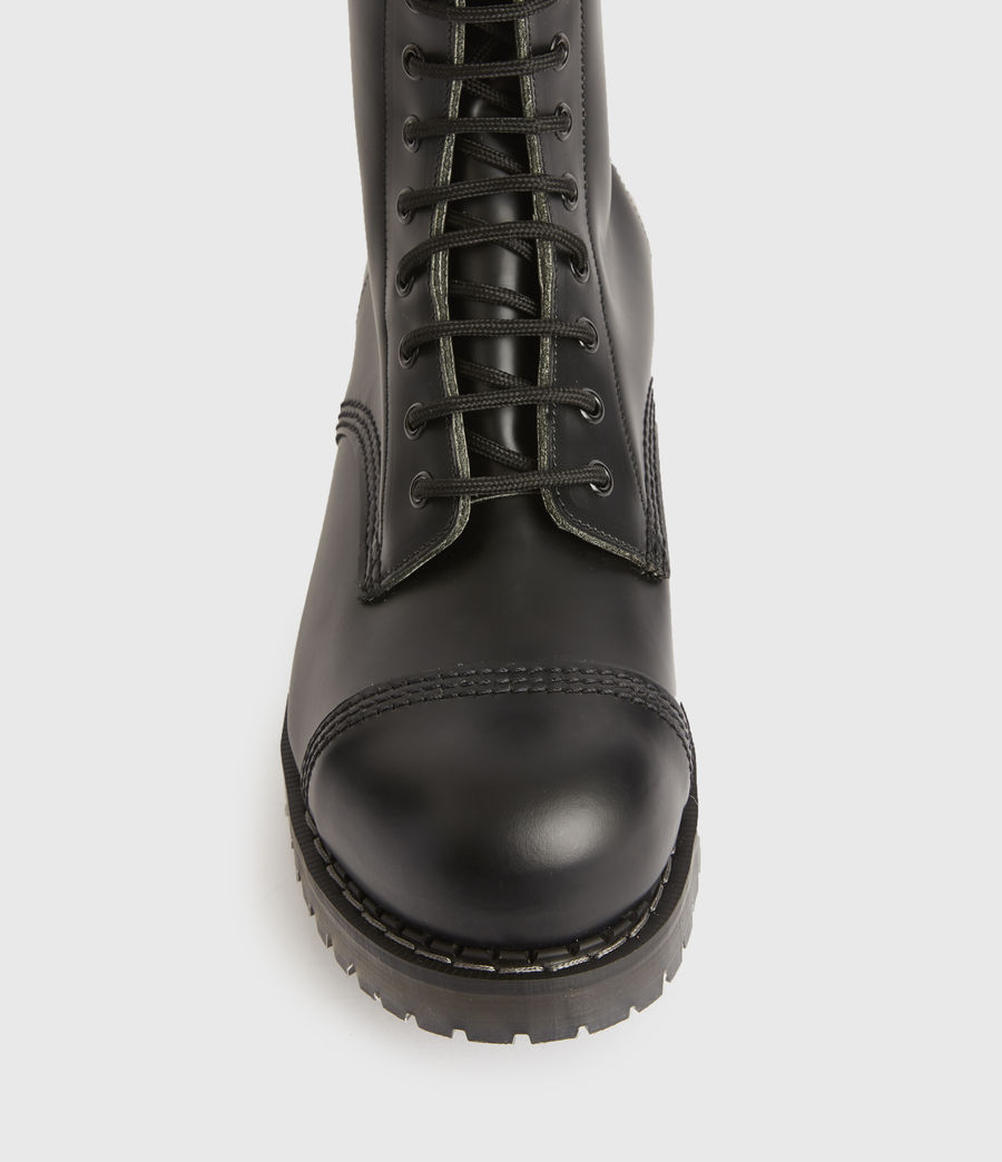 Mens River Leather Boots (black) - Image 2