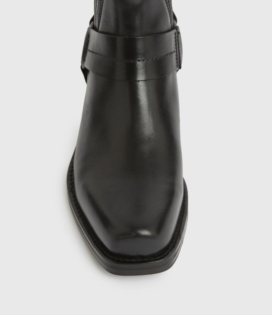 Hommes Bottes en Cuir Abbot (black) - Image 4