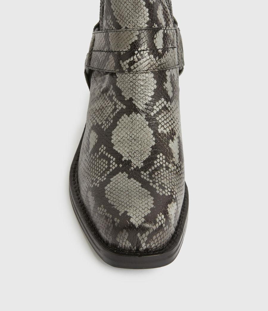 Men's Abbot Leather Boots (black) - Image 2