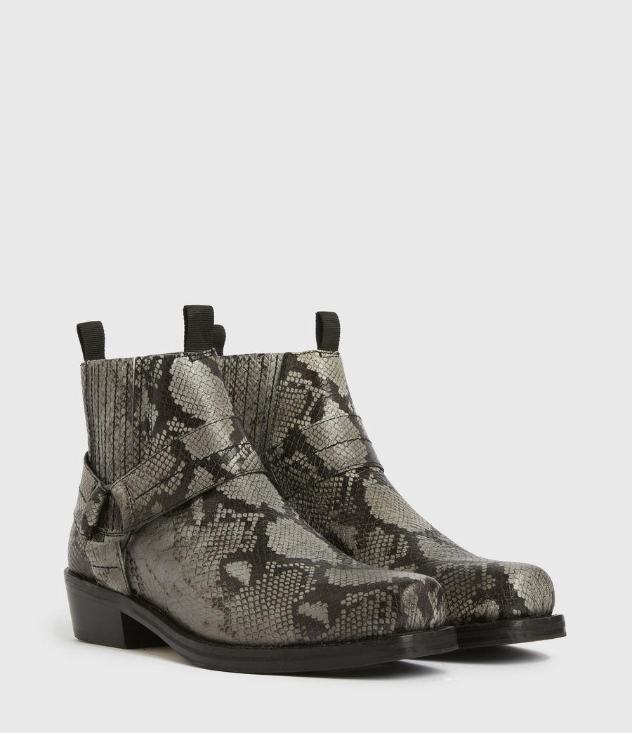 Men's Abbot Leather Boots (black) - Image 3