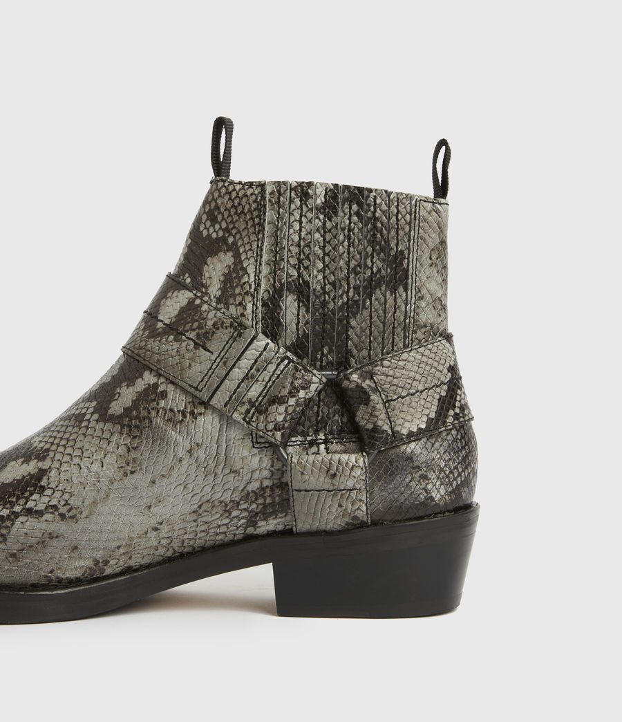 Men's Abbot Leather Boots (black) - Image 4
