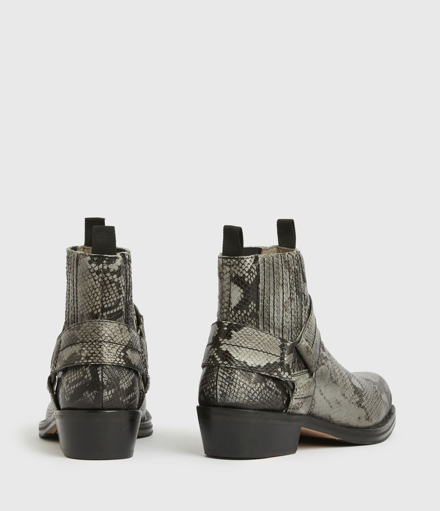 Men's Abbot Leather Boots (black) - Image 5