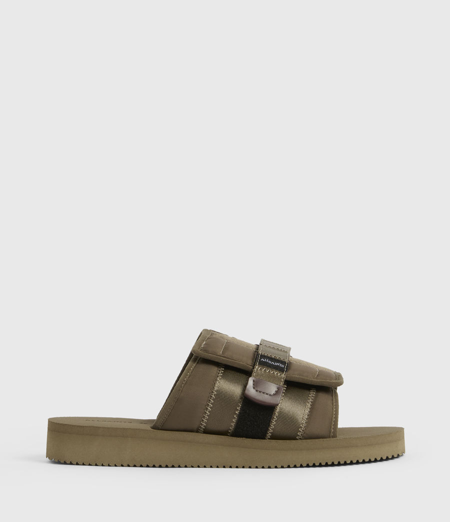 Men's Coleman Sliders (khaki_green) - Image 1