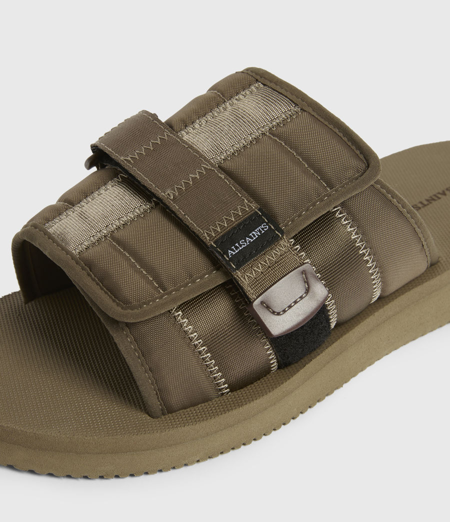 Men's Coleman Sliders (khaki_green) - Image 2