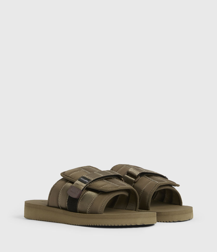 Men's Coleman Sliders (khaki_green) - Image 3