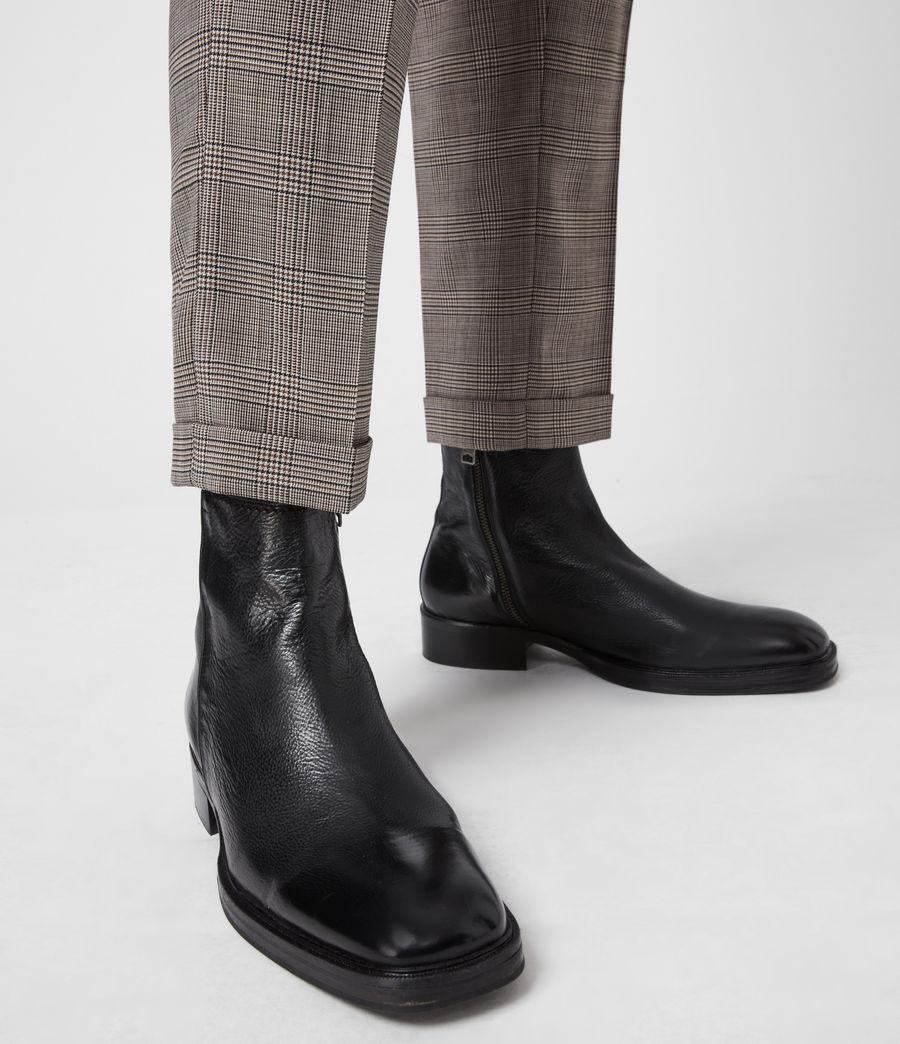 Men's Seth Leather Boots (black) - Image 2