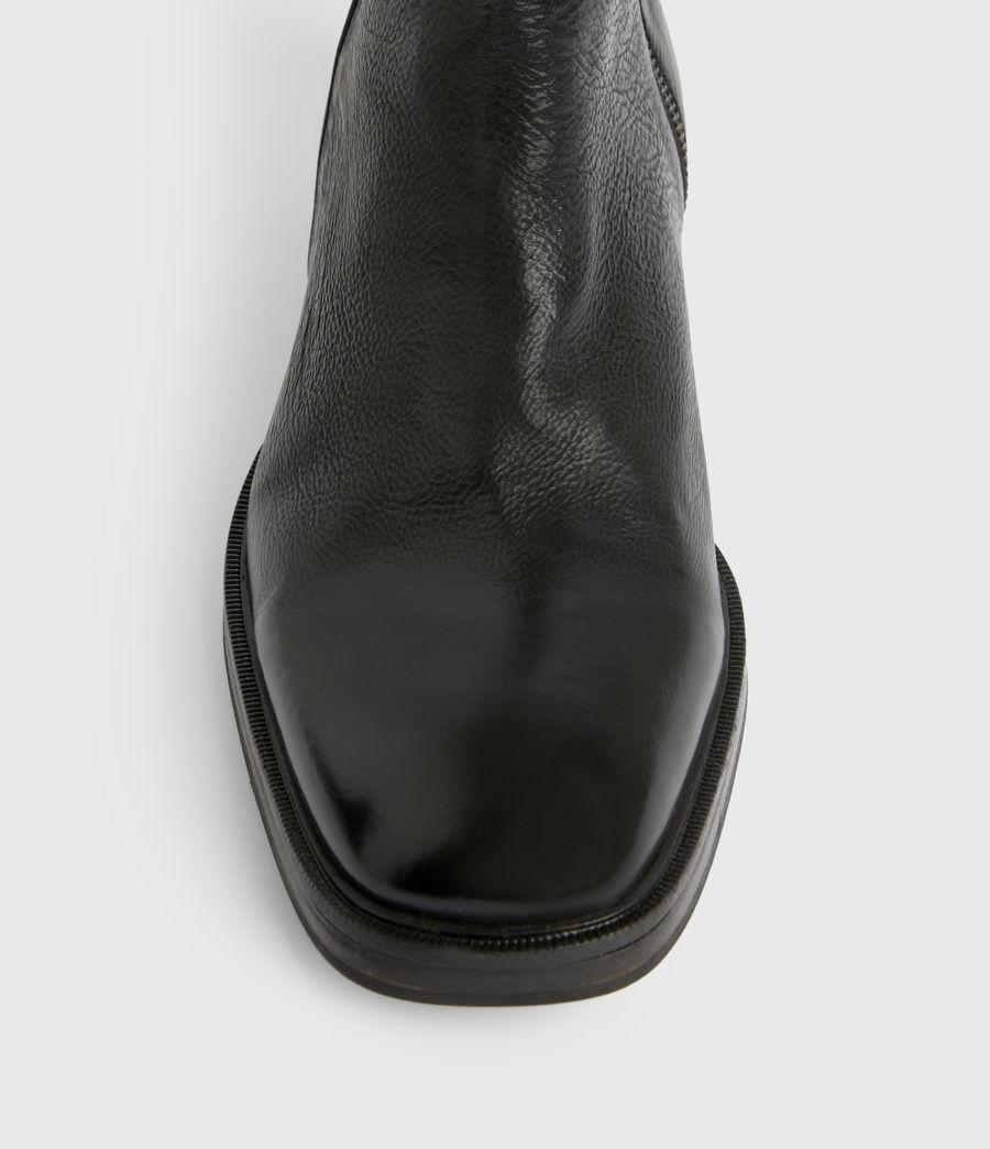 Men's Seth Leather Boots (black) - Image 3