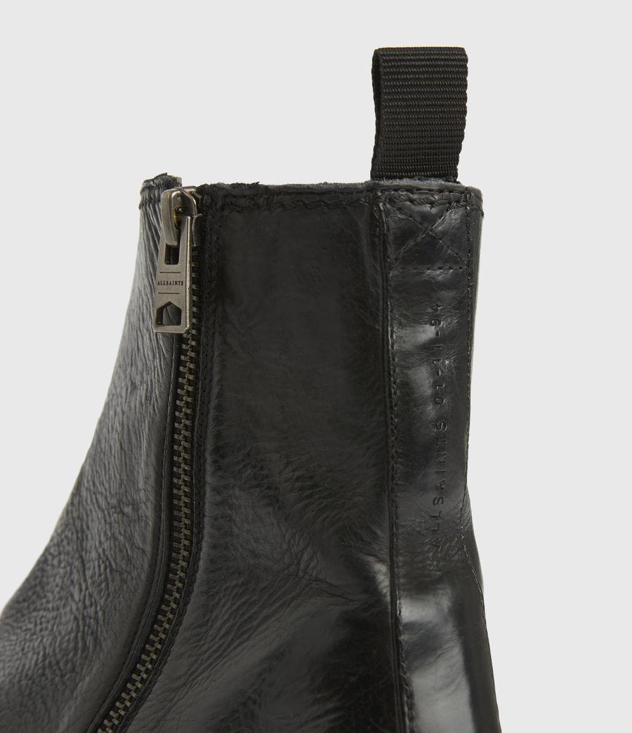 Men's Seth Leather Boots (black) - Image 5